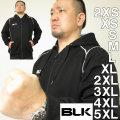 BLK ラグビー フルジップフーディーT2(メーカー取寄)S M L XL 2XL 3XL 4XL 5XL