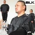 大きいサイズ メンズ BLK ラグビー タイタニウムブレーカー&パンツ上下セット(メーカー取寄) 2XL 3XL 4XL 5XL