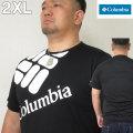 大きいサイズ メンズ Columbia(コロンビア)ロクサハッチパーク ドライ 半袖T シャツ 2XL