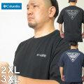 大きいサイズ メンズ Columbia(コロンビア)PFGトライアングル 半袖Tシャツ(当店在庫分) 2XL