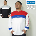(本州四国九州送料無料)大きいサイズ メンズ Columbia(コロンビア)ウィスターフォークロングスリーブクルー 長袖Tシャツ 2XL