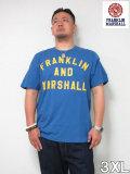 (大きいサイズ メンズ 通販 デビルーズ)FRANKLIN&MARSHALL 「NEW LOGO」TEE