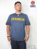 (大きいサイズ メンズ 通販 デビルーズ)FRANKLIN&MARSHALL 「USED WASH」TEE