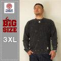 FRANKLIN&MARSHALL(フランクリンアンドマーシャル)クルースウェットシャツ<021-BLACK><3XL>
