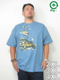 LRG(エルアールジー)「HEAVY PURSUIT」TEE<VENICE BLUE>