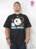 MISHKA(ミシカ)「KWIMPOSSIBLE」TEE<ブラック><XL>