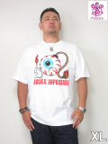 MISHKA(ミシカ)「KWIMPOSSIBLE」TEE<ホワイト><XL>