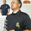 (本州四国九州送料無料)大きいサイズ メンズ デビルーズ オリジナル-4.1オンス ドライアスレチック 半袖 ポロシャツ 2XL 3XL 4XL 5XL