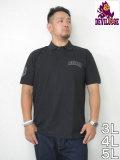 デビルーズオリジナル「DEVILOOSE」6.2オンスドライカノコハイブリッド半袖ポロシャツ<ブラック>