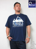 (大きいサイズ メンズ 通販 デビルーズ)PENFIELD(ペンフィールド)「TIE DYE」TEE