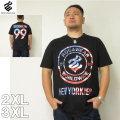 (4/30迄送料値下げ中)ROCAWEAR(ロカウェア)LOGO IN FLAG-半袖Tシャツロカウェア 2XL 3XL 半袖 Tシャツ