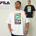 (4/6まで特別送料)大きいサイズ メンズ STAPLE(ステイプル)FILA×STAPLE 半袖Tシャツ ERTH フィラ 2XL Tシャツ