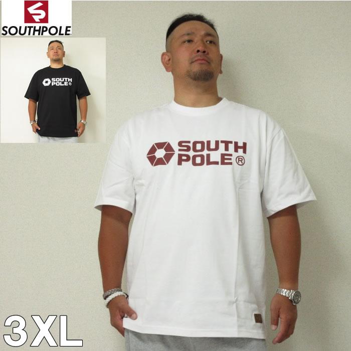 (9/30まで特別送料)SOUTHPOLE(サウスポール)オフィシャル プリント 半袖 Tシャツ 3XL サウスポール