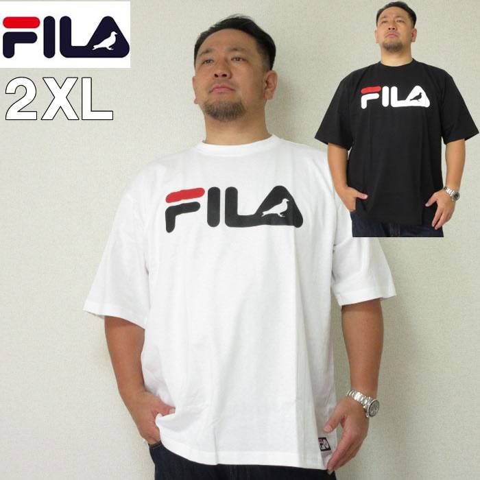 (本州送料無料)大きいサイズ メンズ STAPLE(ステイプル)FILA×STAPLE 半袖Tシャツ ロゴ フィラ 2XL Tシャツ
