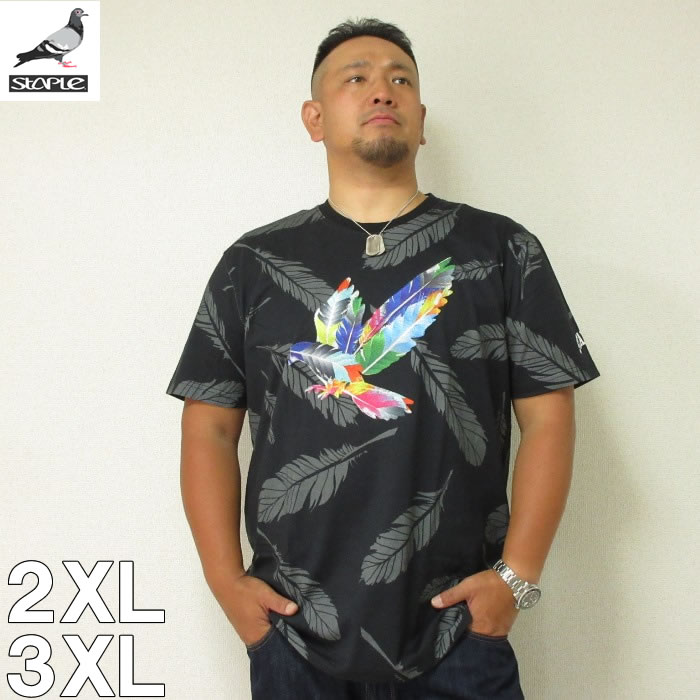 (8/31まで特別送料)STAPLE(ステイプル)FEATHER SPORT PIGEON 半袖 Tシャツ 2XL 3XL