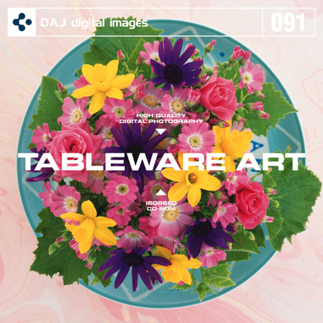 DAJ 091 TABLEWARE ART 【皿のアート】