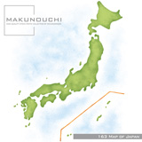 Makunouchi 163 Map of Japan