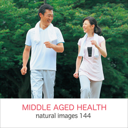 naturalimages Vol.144 MIDDLE AGED HEALTH