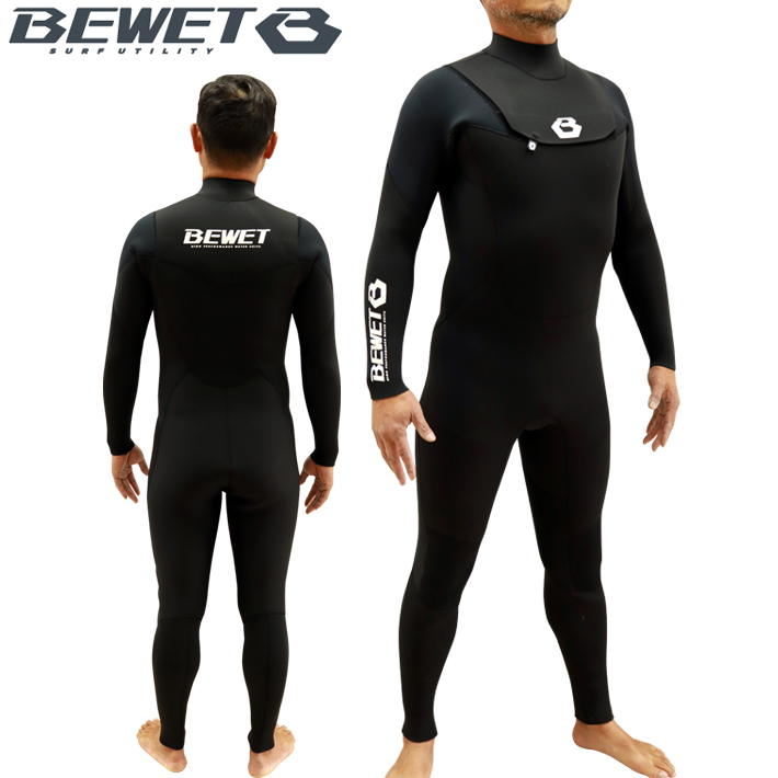 【BEWET】ビーウエット フルスーツ FRONT COVER 3x2mm 2021SS BEWET OCEAN Early Limited 1st 送料無料 【bewet-ss002】