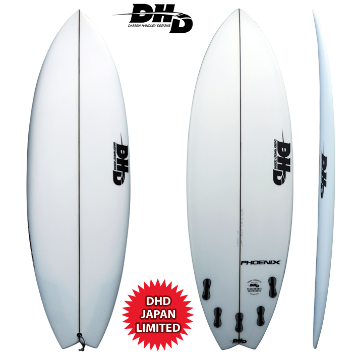 "【送料無料・即納品可能・DHD SURF JAPAN限定】  PHONEIX SWALLOW TAIL 5'5""x 19"" x 2 5/16"" 27L  FCS2 [dhd-sb471]"