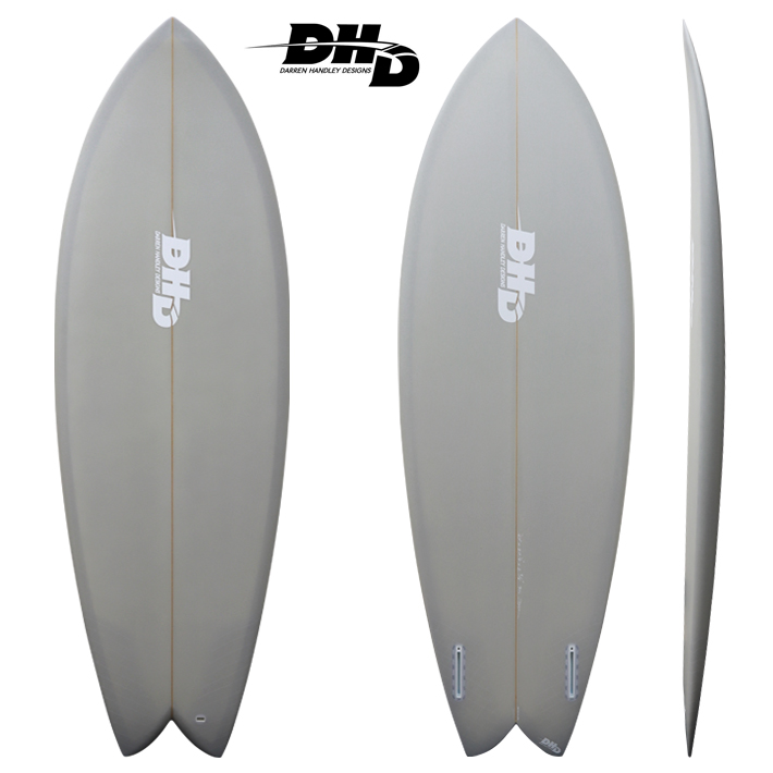 "【送料無料・即納品可能】 Mini Twin GREY Resin Tint 5'5"" 28L [dhd-sb500]"
