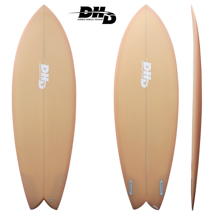 "【送料無料・即納品可能】 Mini Twin ORANGE Resin Tint 5'5"" 28L [dhd-sb512]"