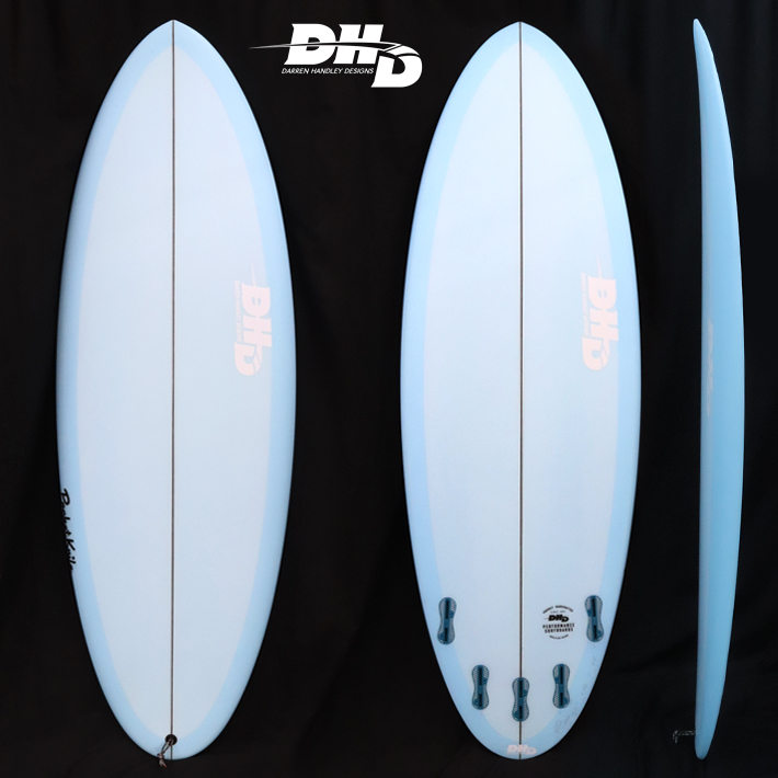 "【即納品可能】POCKET KNIFE 5'6"" x 20-1/2"" x 2-9/16"" 32L FCS2 5FIN BLUE RESIN TINT ストック中 送料無料[dhd-sb129]"