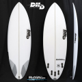 "【即納品可能】BLACK DIAMOND 5'6"" x 19-1/4"" x 2-7/16"" 27.5L FCS2 5FIN ストック中[dhd-sb075]"