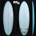 "【即納品可能】POCKET KNIFE 5'10"" x 20 5/8"" x 2 5/8"" 35L FCS2 5FIN MINT RESIN TINT ストック中 送料無料[dhd-sb131]"