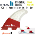 FCS2 フィン 2017モデル FCS2 Accelerator PC Tri Set