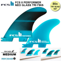 FCS2 Performer Neo Glass Tri-Quad Set Medium 5フィンセット[fcs2-fin065]