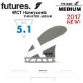 【FUTURES FIN】フューチャーフィン RTM HEX 2.0 WCT HONEYCOMB [futures-014]