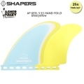 "【SHAPERS FIN】Asher Pacey: 5.55"" HAND FOILED Twin Fin FUTURE アッシャー・ペイシーツインフィン  送料無料[shapers-fin232]"