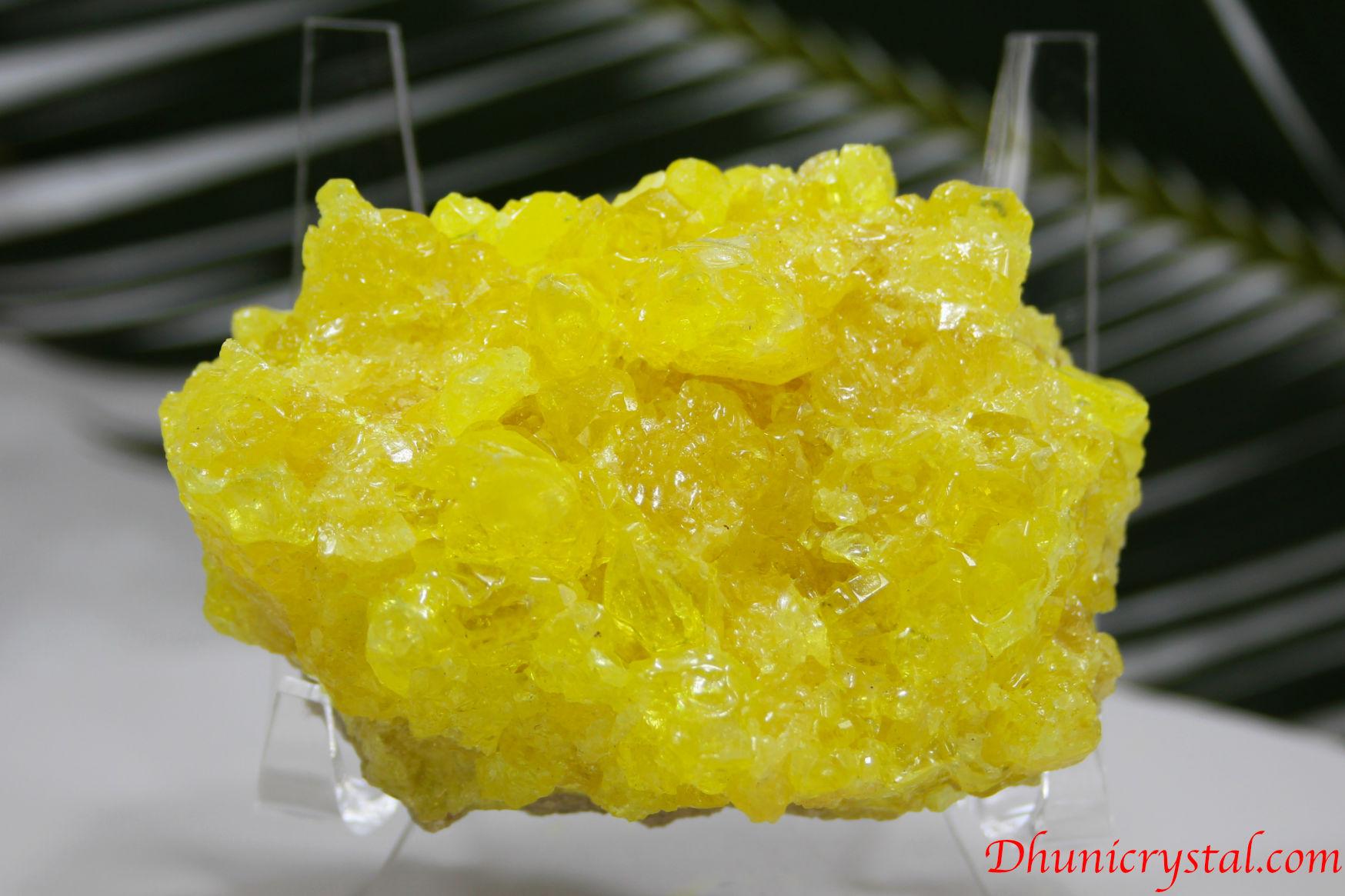 サルファー/硫黄の結晶(J72)