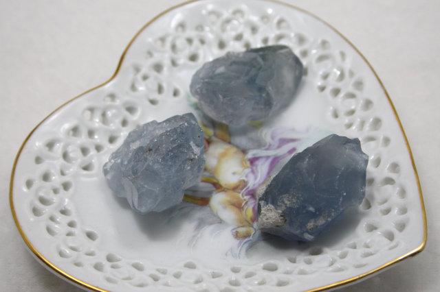 セレスタイト原石/天青石/小(F872)