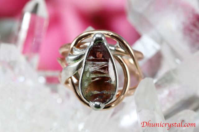 Magical Delight Ring/指輪 【タイガートルマリン】(J509)