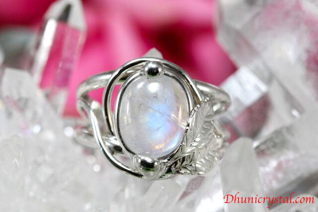 Magical Delight Ring/指輪 【レインボームーンストーン】(J510)