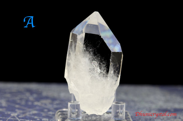 トマスゴンサガ水晶ポイント/(S271-A-B)