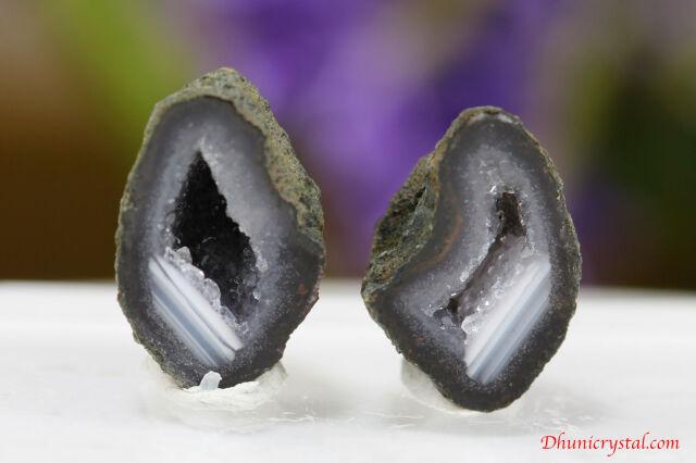 ミニ・ジオード水晶(S797)