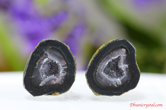 ミニ・ジオード水晶(S799)