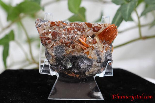 共生鉱物/セルサイト&バライト&ガレナ(Y381)