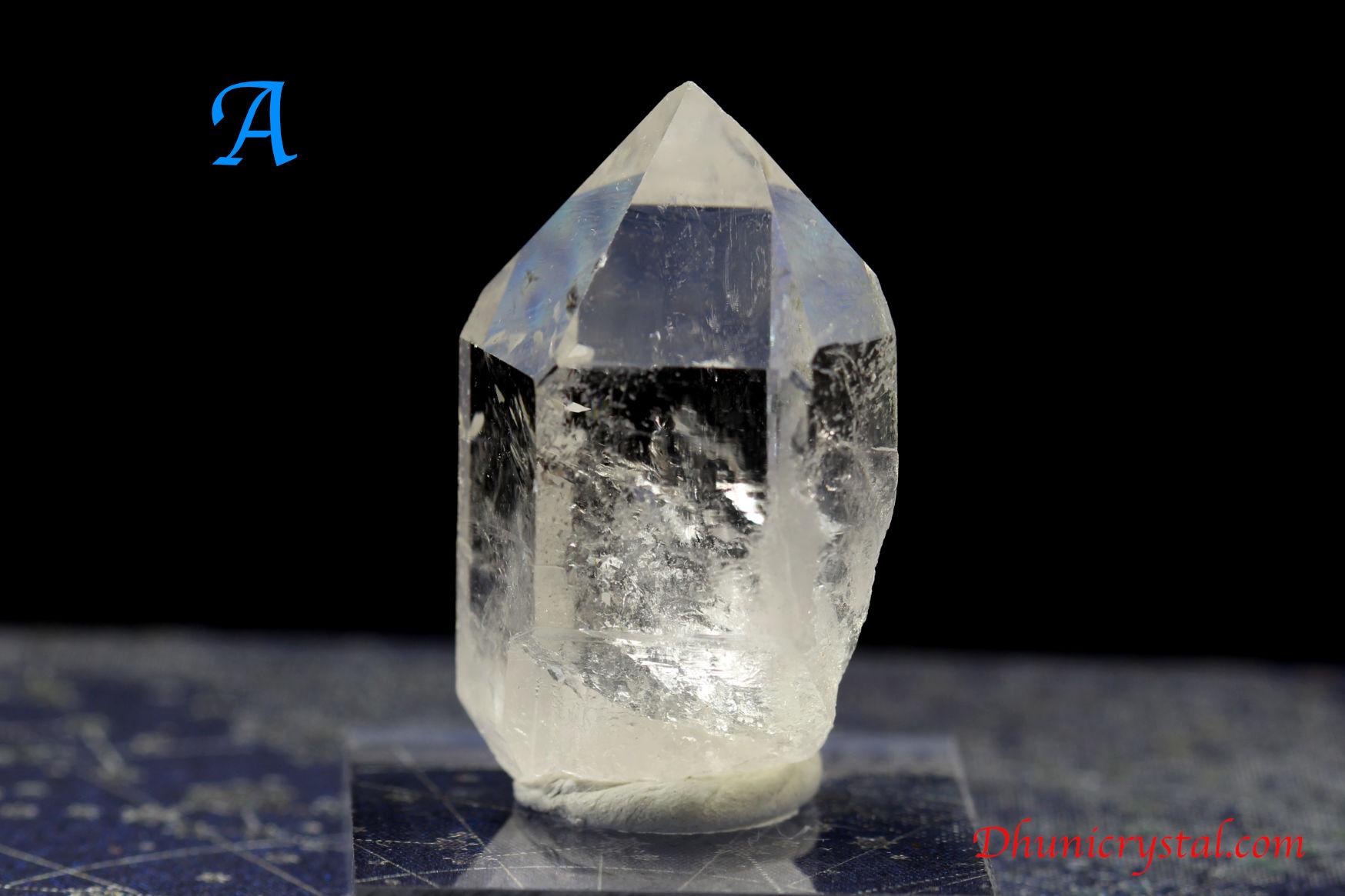 トマスゴンサガ水晶ポイント/(S273-A-B)