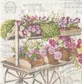 5枚組ペーパーナプキン*Les Fleurs