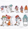 5枚組ペーパーナプキン*Cats with Hats