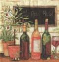 5枚組ペーパーナプキン*ワインとオリーブ