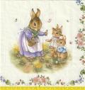 5枚組ペーパーナプキン*Fantasy Easter