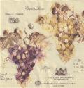 5枚組ペーパーナプキン*フランスワイン
