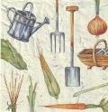 5枚組ペーパーナプキン*I Love Gardening