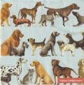 5枚組ペーパーナプキン*DOGS