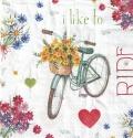 5枚組ペーパーナプキン*I Love my Bike